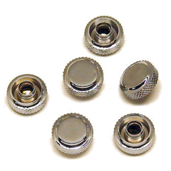 Genuine Fender Locking Caps for Fender Schaller Locking Tuners POLISHED Chrome