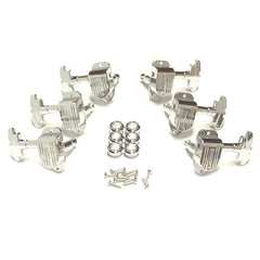 Grover Imperial Guitar Tuning Machines - 16:1 Ratio - 3 per side - Chrome - 150C