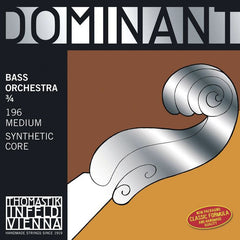 Thomastik Dominant Orchestra 3/4 Upright Double Bass Strings Set - 196