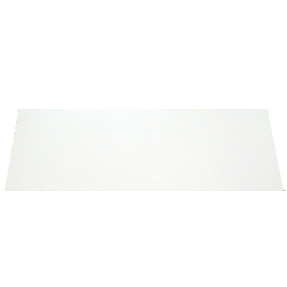 Ant Hill Music Blank Pickguard Sheet Large 24x9 (Gloss White) - Ant Hill Music