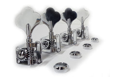 Ant Hill Music Bass Guitar Tuning Machines 4 inline Left-Handed 19:1 Gear Ratio
