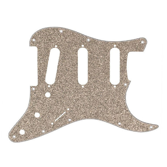 Fender Stratocaster Pickguard 11-Hole Aged Glass Sparkle 0992173000 - Ant Hill Music