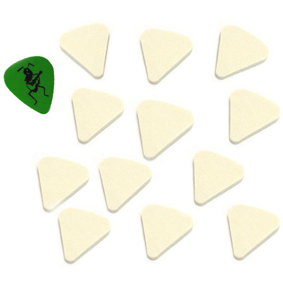 Genuine Felt Guitar Bass & Ukulele Picks with Free Ant Hill Music Pick - Dozen - Ant Hill Music