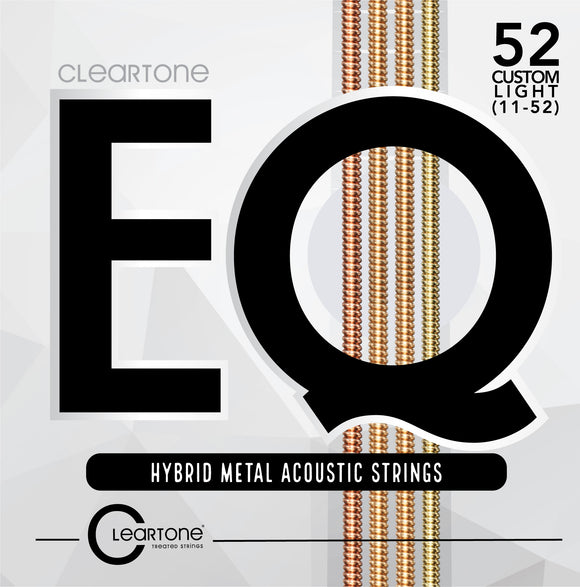 Cleartone EQ Hybrid Metal Acoustic Guitar Strings 11-52 - Ant Hill Music