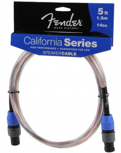 Fender California Series Speakon to Speakon Speaker Cable 14-Gauge 5FT - Ant Hill Music