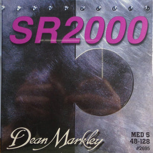 Dean Markley SR2000 5-String Bass Guitar Strings 2695 MED5 48-128 - Ant Hill Music