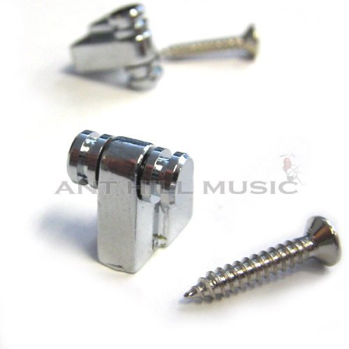 Mighty Mite Electric Guitar Roller String Trees Fits Fender Qty 2