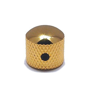 Ant Hill Music Guitar Control Knob Dome Top Fits Solid Shaft Potentiometer Gold - Ant Hill Music