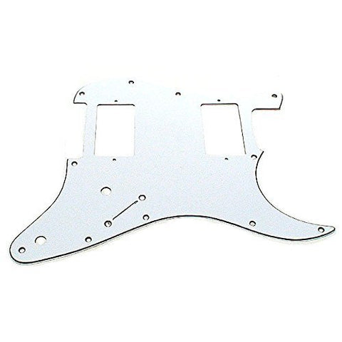 Ant Hill Music Stratocaster Pickguard 11 Hole 3ply HH WBW fits US/MEX Strats