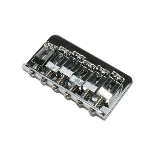 Fender Hardtail Stratocaster Guitar Bridge for Import Models Chrome 2-3/32