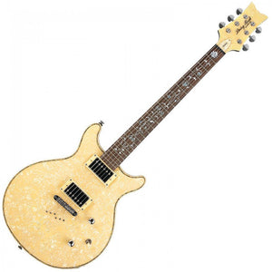 Daisy Rock Guitars Elite Venus Electric Guitar Vintage Ivory Pearl Lightweight