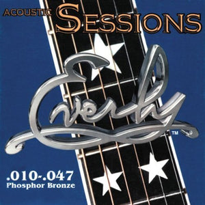 Everly Acoustic Guitar Strings Sessions .010-.047 Extra Light Gauge - Ant Hill Music