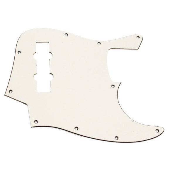 Ant Hill Music 10-Hole 3 Ply W/B/W Pickguard Fits Import 4 String Jazz Basses - Ant Hill Music