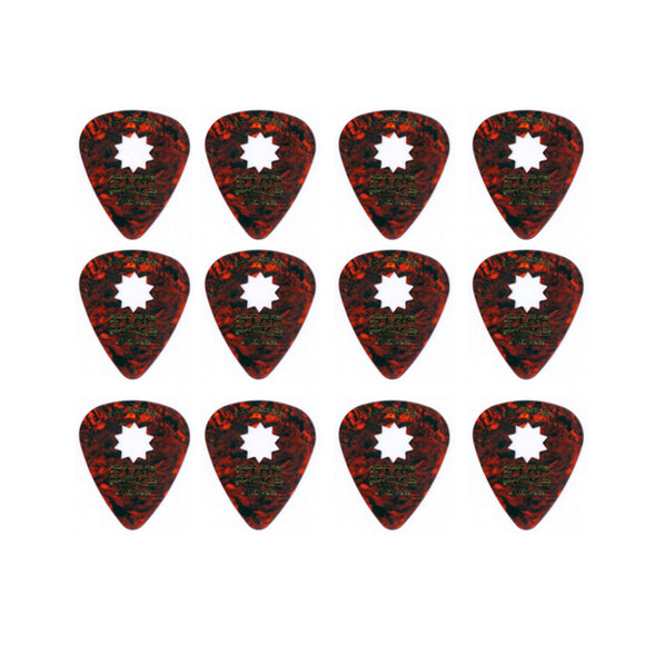Everly Star Picks 351 Shape Shell Celluloid Guitar Picks .46mm 12 Pack - Ant Hill Music
