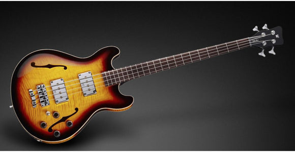 Warwick Teambuilt Pro Series Star Bass 4-String Vintage Sunburst Made in Germany