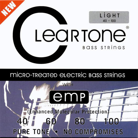 Cleartone Bass Guitar Strings - Light - 6440 - 40-100 - 1 Pack - Ant Hill Music