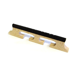 German Made Maple & Ebony Banjo Mandolin Bridge (5/8, Natural) - Ant Hill Music