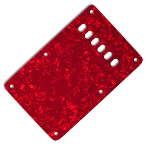 Ant Hill Music Stratocaster Backplate 3-Ply Red Pearl - Ant Hill Music