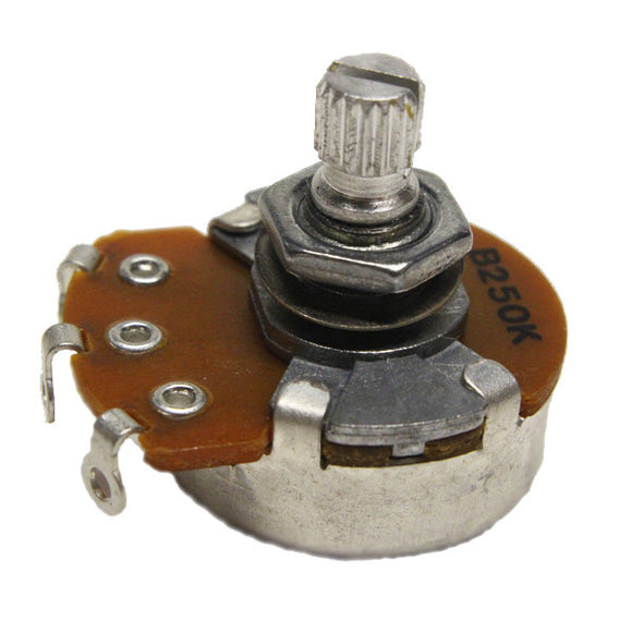 Ant Hill Music 250K Linear Control Pot For Tone Medium Split Shaft Quarter Sized - Ant Hill Music