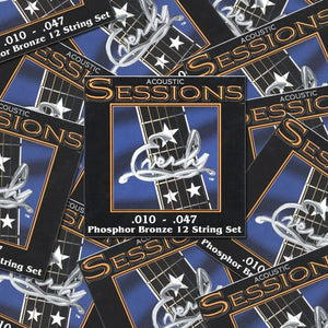 Everly Sessions 12-String Acoustic Guitar Strings Phos. Bronze XL 10-47 - 12Pack - Ant Hill Music