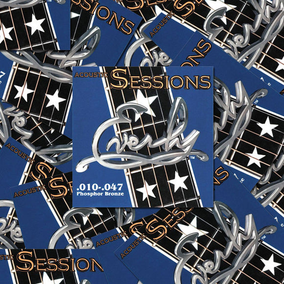 Everly Sessions Acoustic Guitar Strings - Phosphor Bronze - XL - 10-47 - 12 Pack - Ant Hill Music