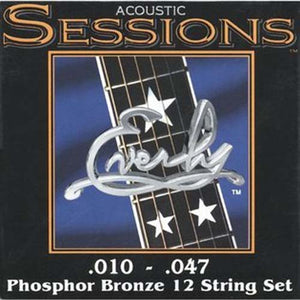 Everly Sessions 12-String Acoustic Guitar - Phosphor Bronze - LT - 10-47 -1 Pack - Ant Hill Music