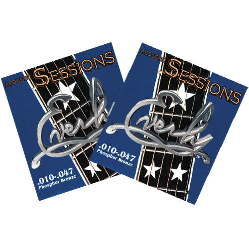 Everly Sessions Acoustic Guitar Strings - Phosphor Bronze - XL - 10-47 - 2 Pack - Ant Hill Music
