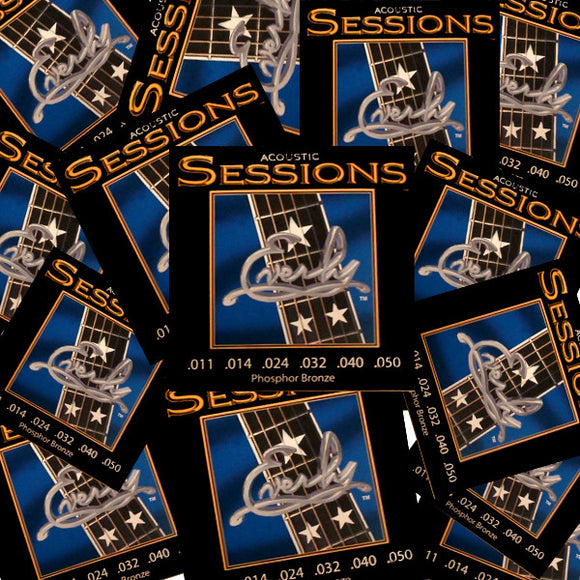 Everly Sessions Acoustic Guitar Strings - Phosphor Bronze CL 11-50 - 12 Pack - Ant Hill Music