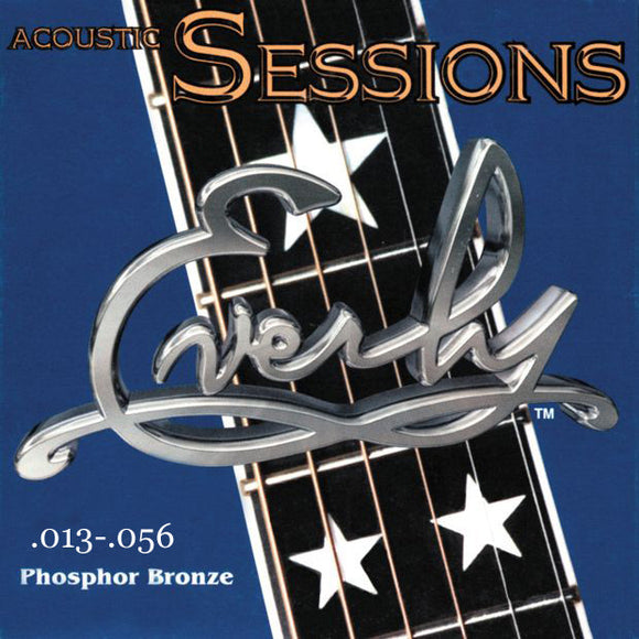 Everly Sessions Acoustic Guitar Strings - Phosphor Bronze - HVY - 13-56 - 1 Pack - Ant Hill Music