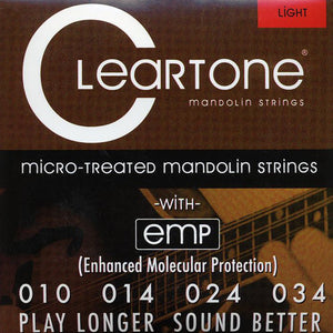 Cleartone Mandolin Strings - Light -7510 - 10-34 - 1 Pack - Ant Hill Music