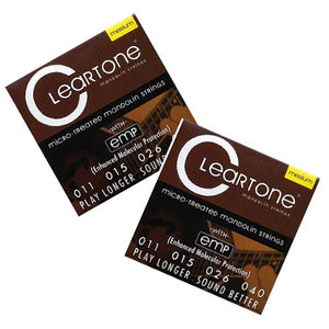 Cleartone Mandolin Strings - Medium - 7511 - 11-40 - 2 Pack - Ant Hill Music