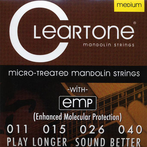 Cleartone Mandolin Strings - Medium - 7511 - 11-40 - 1 Pack