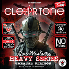Cleartone Dave Mustaine Signature Series Guitar Strings Studio and Live Set
