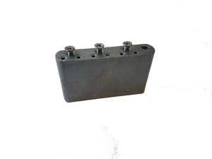 Fender BIG BLOCK Bridge Block Stamped PW-29 Left Hand fits 2 1/16 Spacing plate - Ant Hill Music