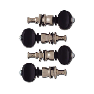 Grover Champion Sta-Tite Ukulele Friction Tuning Pegs in Black - 85B