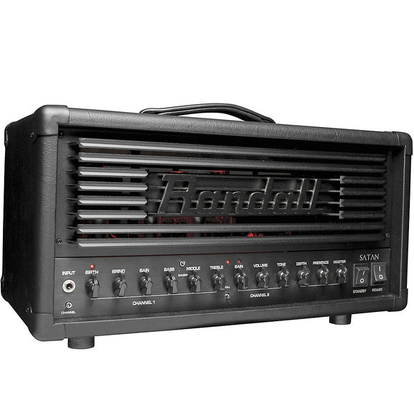Randall Ola Englund Signature Satan 50 Watt 2-Channel Tube Guitar Amplifier Head