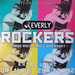 Everly Rockers Electric Guitar Strings - Extra Light - 9009 - 9-42 - 1 Pack