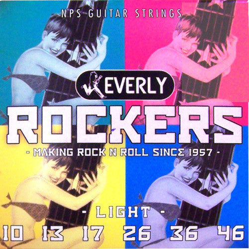 Everly Rockers Electric Guitar Strings - Light - 9010 - 10-46 - 1 Pack - Ant Hill Music