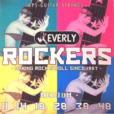 Everly Rockers Electric Guitar Strings - Medium - 9011 - 11-48 - 1 Pack