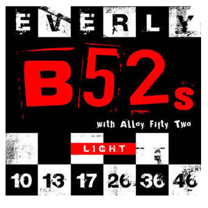 Everly B52's Electric Guitar Strings Nickel Alloy - Light - 10-46 - 9210 - 1Pack - Ant Hill Music