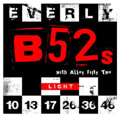 Everly B52's Electric Guitar Strings Nickel Alloy - Light - 10-46 - 9210 - 1Pack