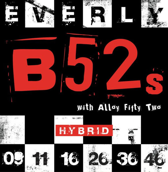 Everly B52's Electric Guitar Strings - Hybrid - 9219 - 9-46 - 1 Pack - Ant Hill Music
