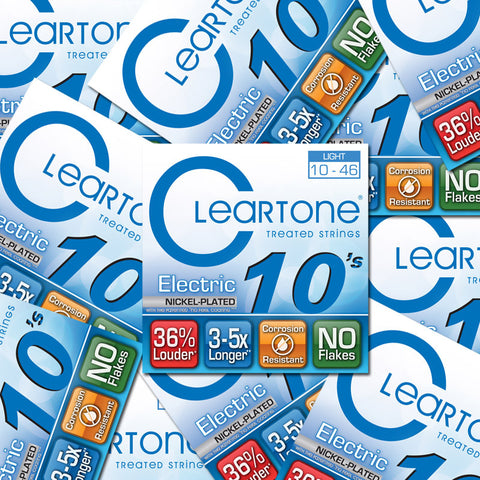Cleartone Electric Guitar Strings - Light - 9410 - 10-46 - 12 Packs