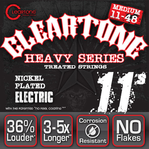 Cleartone Monster Electric Guitar Strings Heavy Series Medium 11-48