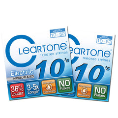Cleartone Electric Guitar Strings Nickel - LT Top Hvy Bottom - 10-52 9420 2Packs