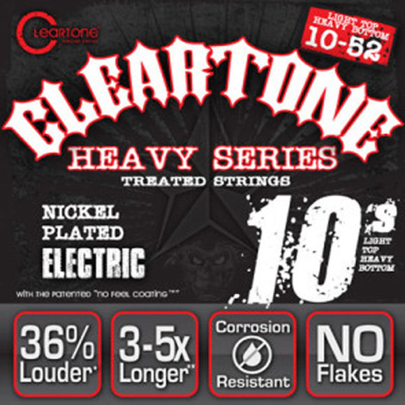Cleartone Monster Electric Guitar Strings - Dave Mustaine Signature Series 10-52 - Ant Hill Music