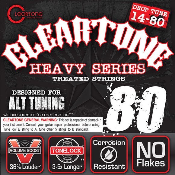Cleartone Monster Electric Guitar Strings - Drop A - 9480 - 14-80 - 1 Pack