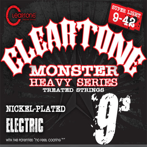 Cleartone Electric Guitar Strings - Super Light - 9509 - 9-42 - 1 Pack