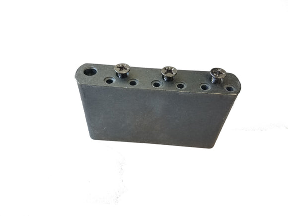 Fender BIG BLOCK Bridge Block Stamped PW-29 Right Hand fits 2 1/16 Spacing plate - Ant Hill Music