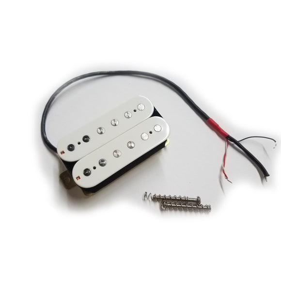 Ant Hill Music Electric Guitar Humbucker Pickup 8.9k output Alnico-V White - Ant Hill Music
